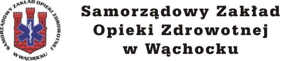 Samorządowy Zakład Opieki Zdrowotnej w Wąchocku Logo